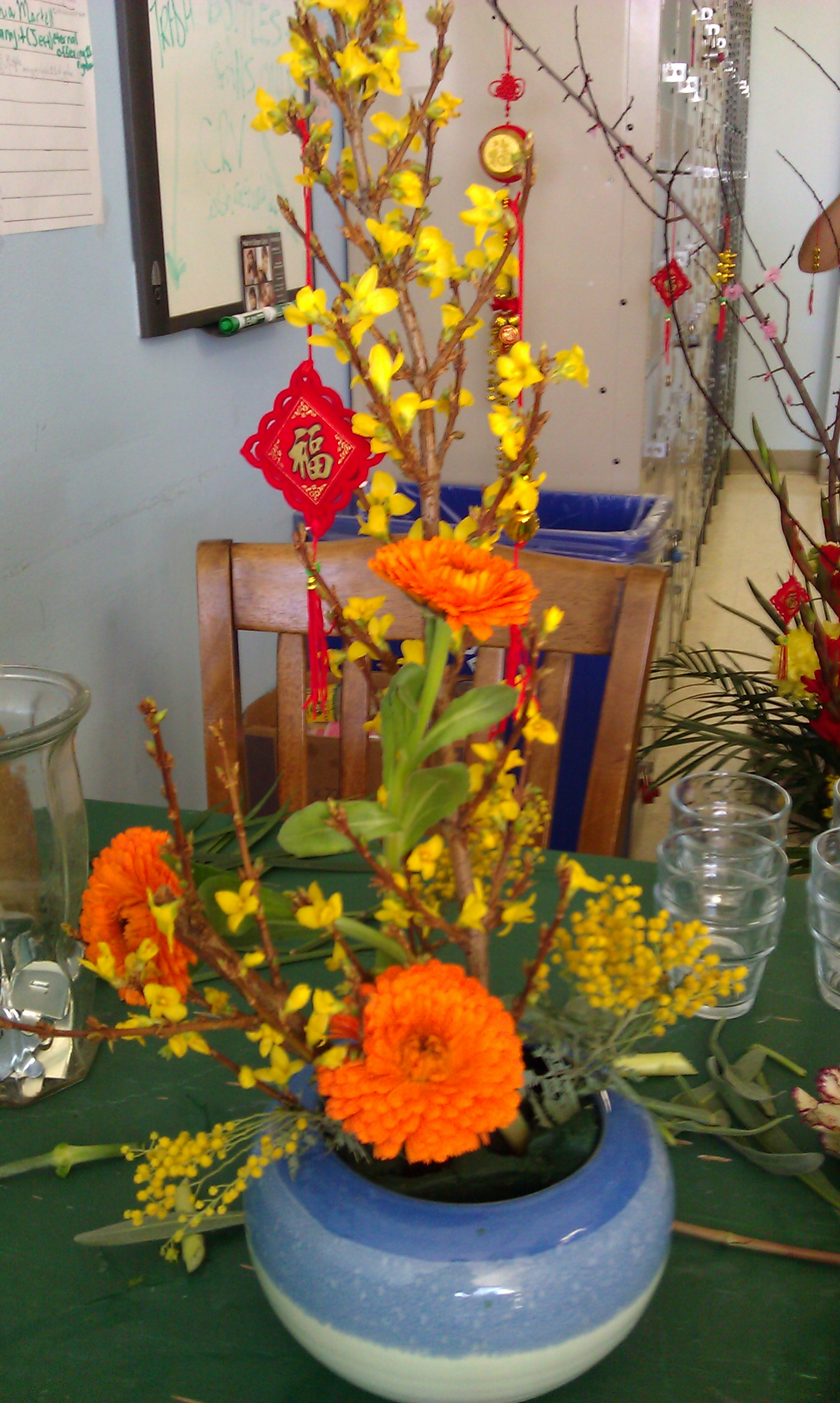 Chinese Flower Arrangements flowers for chinese new year – yo san ...